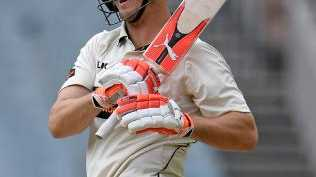 Mitch Marsh in action against Victoria.