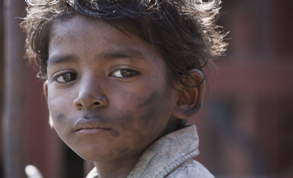 Sunny Pawar in a scene from the movie Lion.
