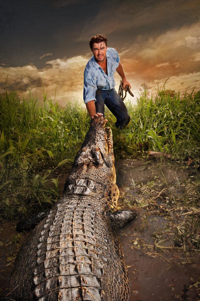Crocodile relocator Matt Wright returns in season three of the TV series Outback Wrangler.