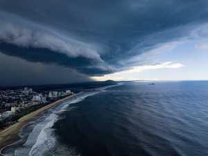 STORM WARNING: Intense system strikes Coast
