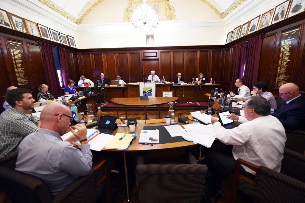 Fraser Coast Regional Council meeting, Maryborough.