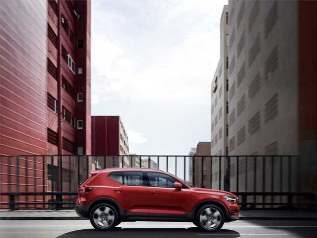 The Volvo XC40 will arrive in Australia during April, 2018.