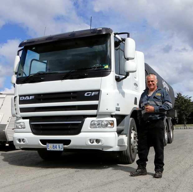 Tassie Truckin. Matt Shaw from Launceston
