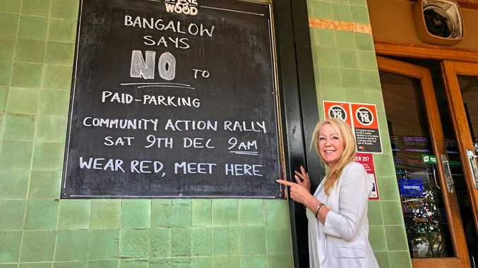 RALLYING POINT: Bangalow Chamber of Commerce President Jo Millar.