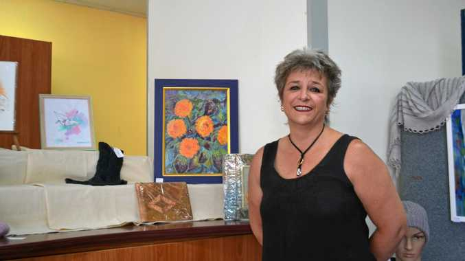 BRIGHT IDEA: Miles pop-up gallery organiser Claudia Honnery described the initiative as a success.