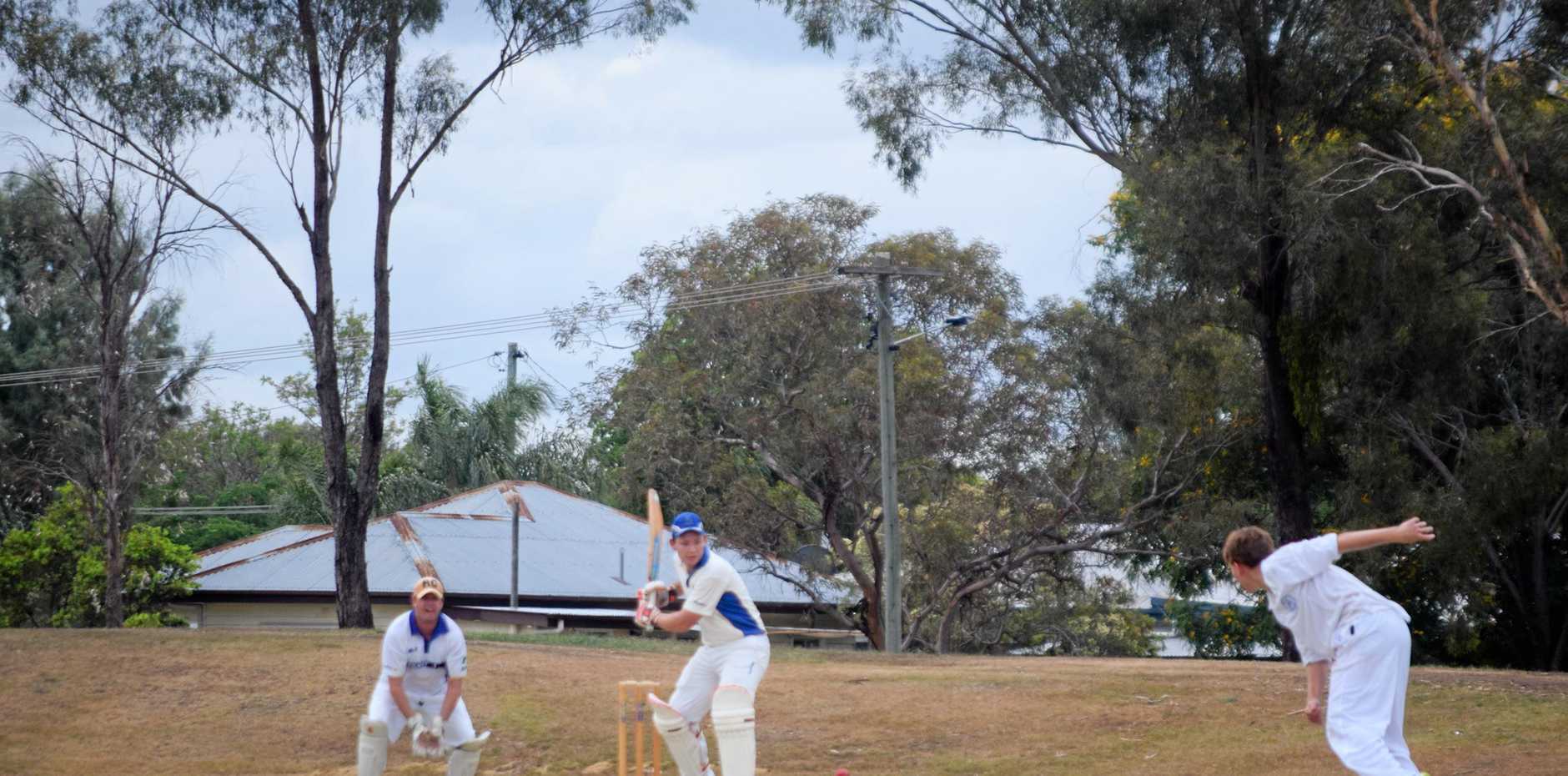 KNOCK: Brendan Buckley led from the front with a half-century for Colts.