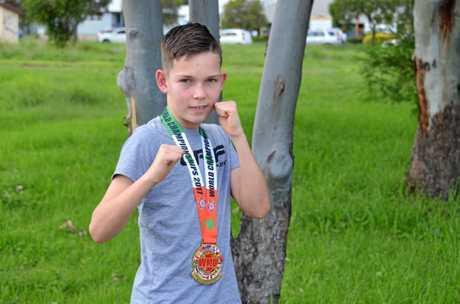 WORLD CHAMPION: Kickboxer Nick Reidy.