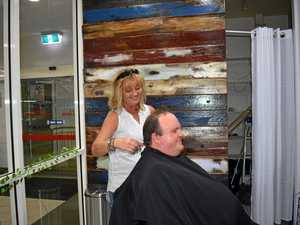 How this Gympie barber helped her husband's miracle recovery