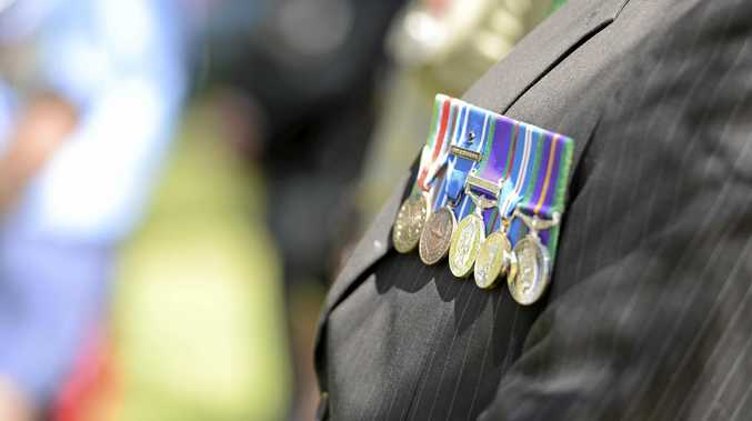 Vietnam Veterans Day at ANZAC Park, Corner Tank and Goondoon Street.  Photo Christopher Chan / The Observer