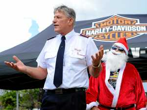 Ho-Ho-Harley ride for Salvo toy run