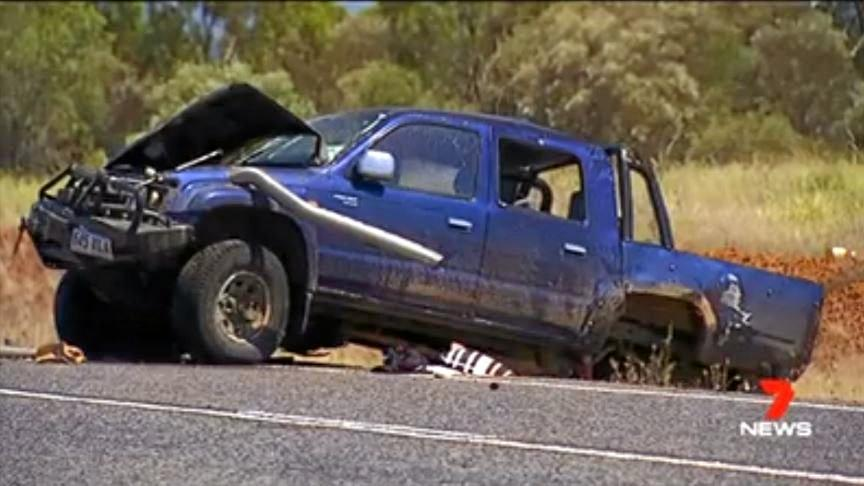 TRAGEDY: 17-year-old Aaron Burns died in a single vehicle crash near Moranbah yesterday morning. There were four other passengers in the car, and an 11-year-old girl was still in a critical condition last night.