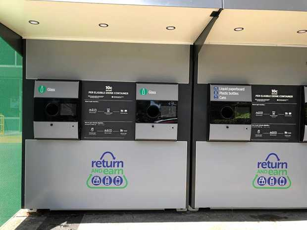 Lismore's reverse vending machine for recycling drink cans will be at the current recycling facility.