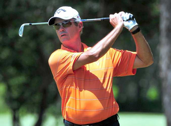 AT NOOSA: Ian Baker-Finch pictured at a senior event on the Sunshine Coast.
