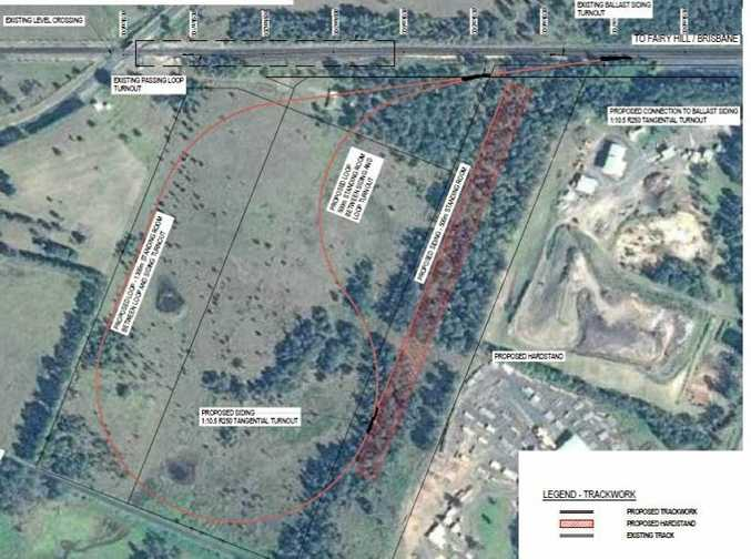 Pacific Intermodal & Industrial Hub project planned for Casino mapped out.
