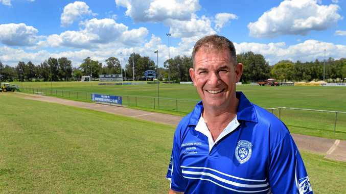 Newly appointed Rugby League Ipswich director Dane McQueen