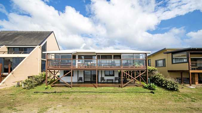 SOLD: 20 South Terrace in Wooli sold for $970,000 at auction.
