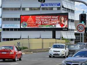 Readers row over Christmas billboard promoting gun sales
