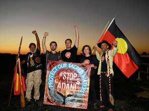 MPs arrested at Adani blockade