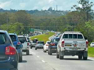 HIGHWAY CHAOS: Rollover leaves lane blocked, man injured
