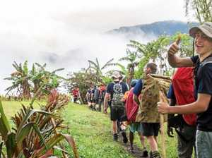 Teen walks Kokoda for Viet Vet father he lost