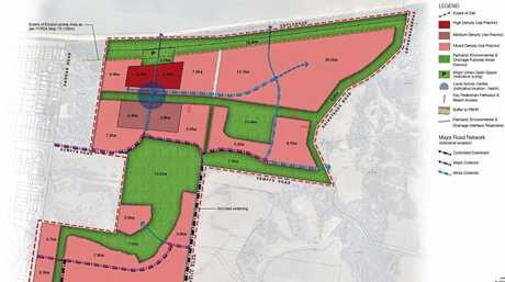HOUSING PLAN: Concept designs of the proposed housing estate to be located in Dundowran. The council granted preliminary approval to the development yesterday.
