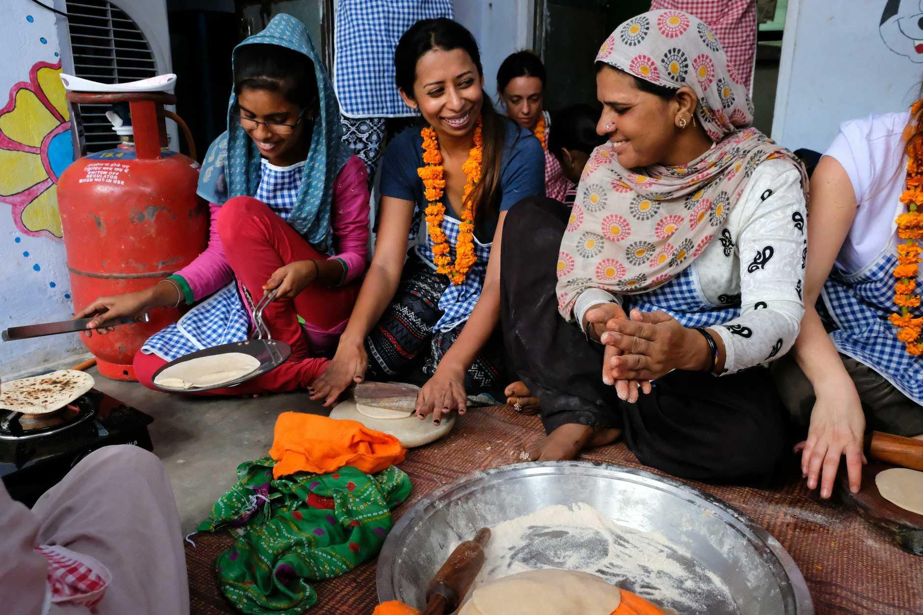 Hands on Journeys Empowerment Tourism tour through Agra, Jaipur and Delhi, Golden Triangle, India. Photo: Whitney Taylor