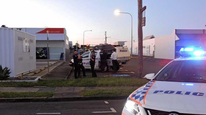 Police have blocked off parts of Maryborough's Bazaar St, between Alice and Albert sts.