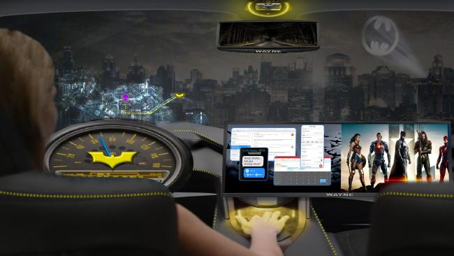 Who doesn't want to ride in the Batmobile?