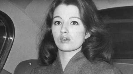 Christine Keeler at the height of her fame in 1963. Picture: Getty