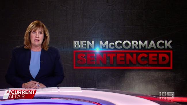 ACA host Tracy Grimshaw addresses the child porn charges against former colleague Ben McCormack. Picture: ACA.
