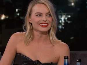 Margot Robbie shows Chris Pratt her 'party trick'