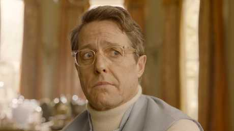 Hugh Grant is the villain of the piece, a failed actor with a secret sideline as a burglar.