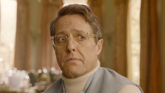 Hugh Grant is the villain of the piece, a failed actor with a secret sideline as a burglar.