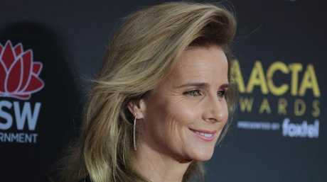 Rachel Griffiths arrives at the AACTA (Australian Academy of Cinema and Television Arts) Awards.