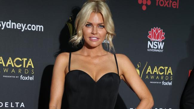 Sophie Monk arrives at the 7th annual AACTA Awards in Sydney.