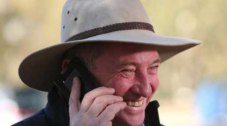 Barnaby Joyce, newly re-elected member for the federal seat of New England. Picture: Lyndon Mechielsen/The Australian
