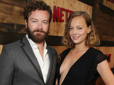 Danny Masterson and his wife Bijou Phillips are Scientologist.  Picture:  Splash