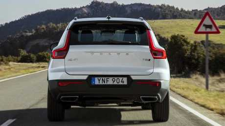 Well thought out: XC40 combines the usual Volvo traits with relaxed driving.