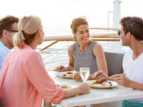 So, tell me about yourself. Picture: Princess Cruises