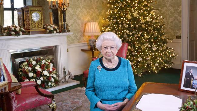 The former chef to the Queen has revealed what the royals eat on Christmas Day. Picture: AFP/POOL/Yui Mok