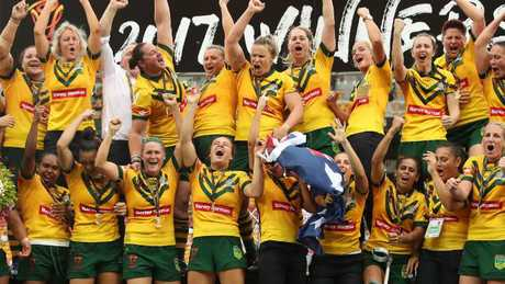There will be 40 contracts for Jillaroos players.