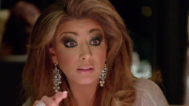 Gina Liano puts Gamble on notice.