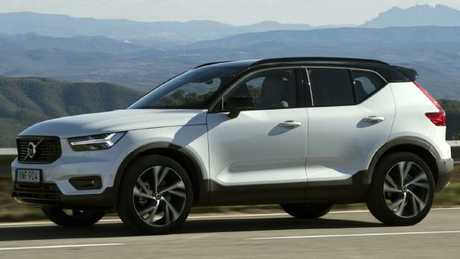 Distinctive looks: Volvo XC40 (overseas model).