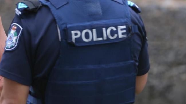 A police officer with his vest on. Photo: File
