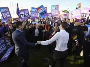 Standing ovation as same-sex marriage becomes law