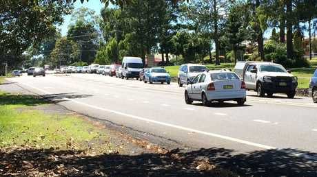 An incident on the Bruxner Highway near Sunrise Court in Goonellabah is disrupting traffic.