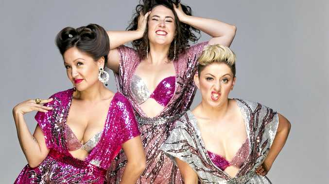 COMEDY: The Fringe Wives Club will perform in Brunswick Heads next month.