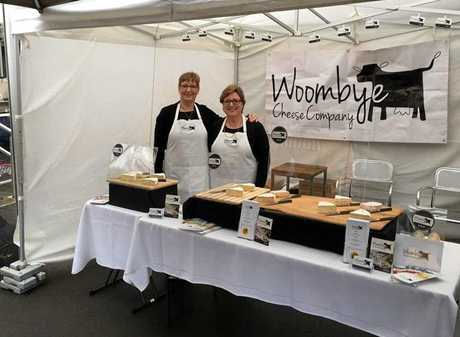 FAMILY BUSINESS: Sisters Karen Paynter and Sandra Cadby from Woombye Cheese.