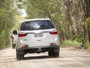 Isuzu Fraser Island off-road experience