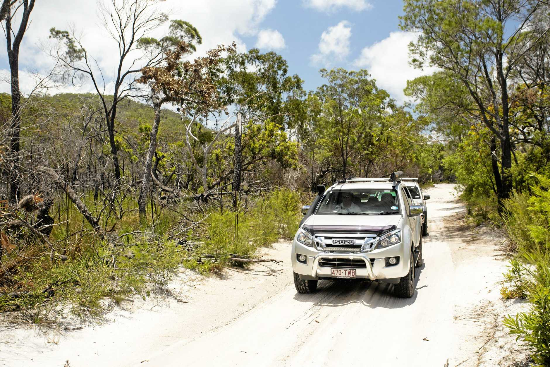 Isuzu's I-Venture Club program helps owners use their 4x4 Isuzus in a safe and structured environment under expert instruction.